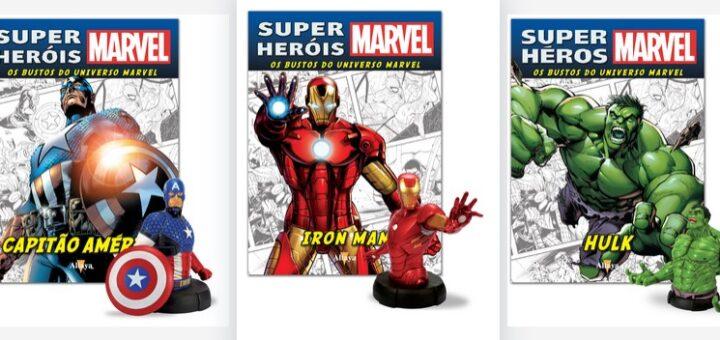 Super-Heróis Marvel: Bustos de Coleção