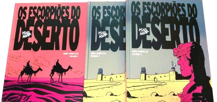 Os Escorpiões do Deserto - Obra completa (Vol.2)