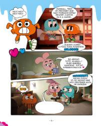 O Incrível Mundo de Gumball: Aventuras aos Quadradinhos!