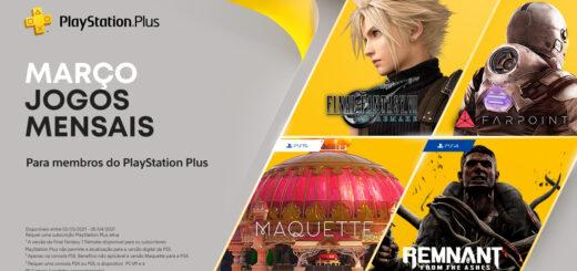 Playstation Plus Março