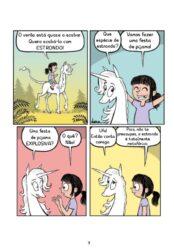Bia e o Unicornio - Segredos De Unicornio_capa