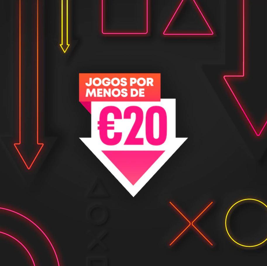 Jogos a menos de 20 euros