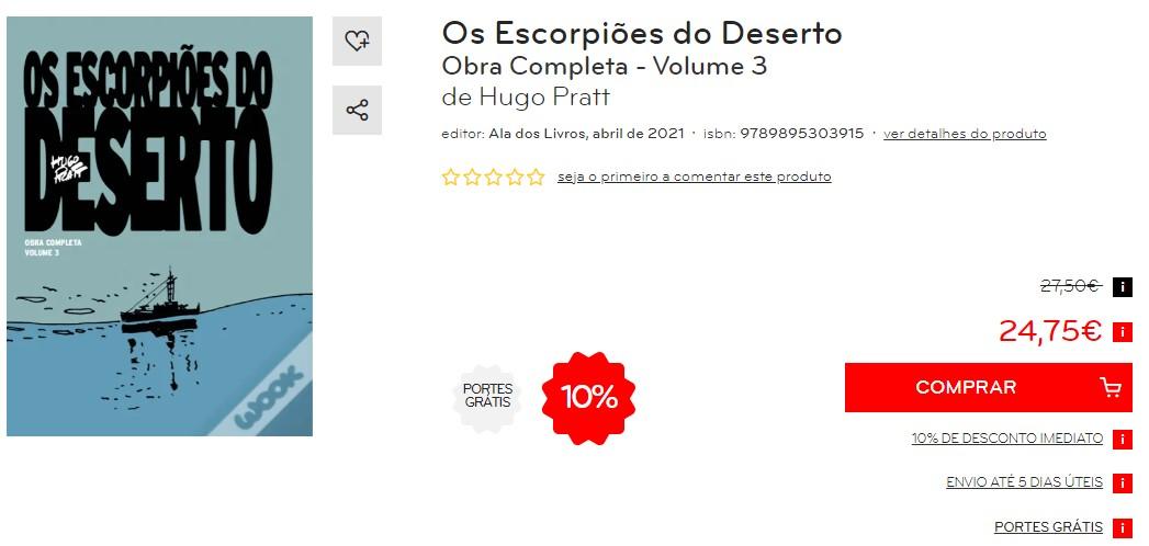 OS ESCORPIÕES DO DESERTO Obra Completa - Volume 3