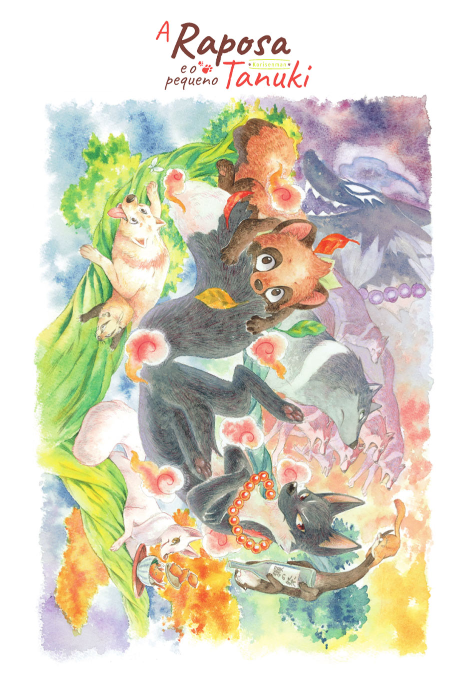 A Raposa e o Pequeno Tanuki