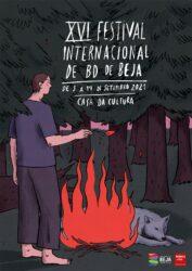 Cartaz XVI Festival Internacional de Banda Desenhada de Beja