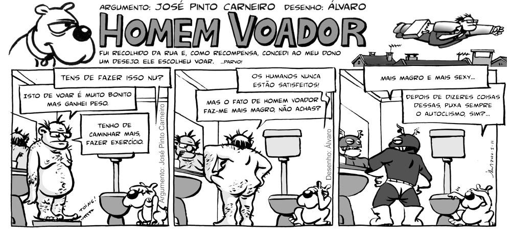 Homem Voador, de José Pinto Carneiro e Álvaro